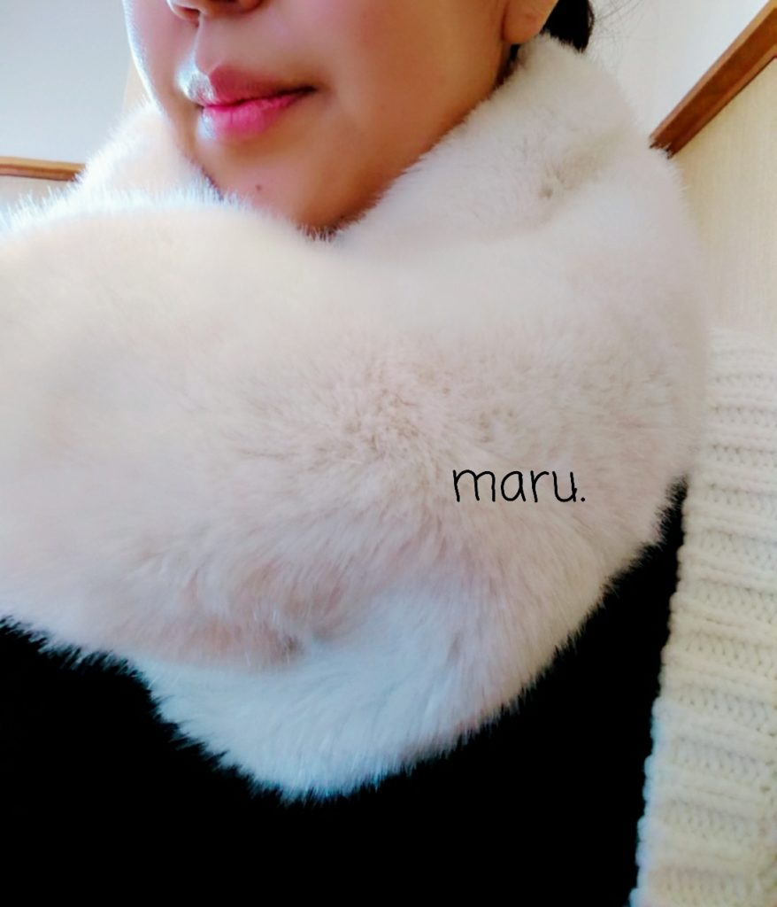 ZARA,スヌード,エコファー,30代ママファッション