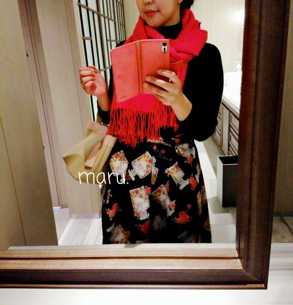 プレシャスストーンジュエリースカート,30代ママファッション,ぽっちゃり