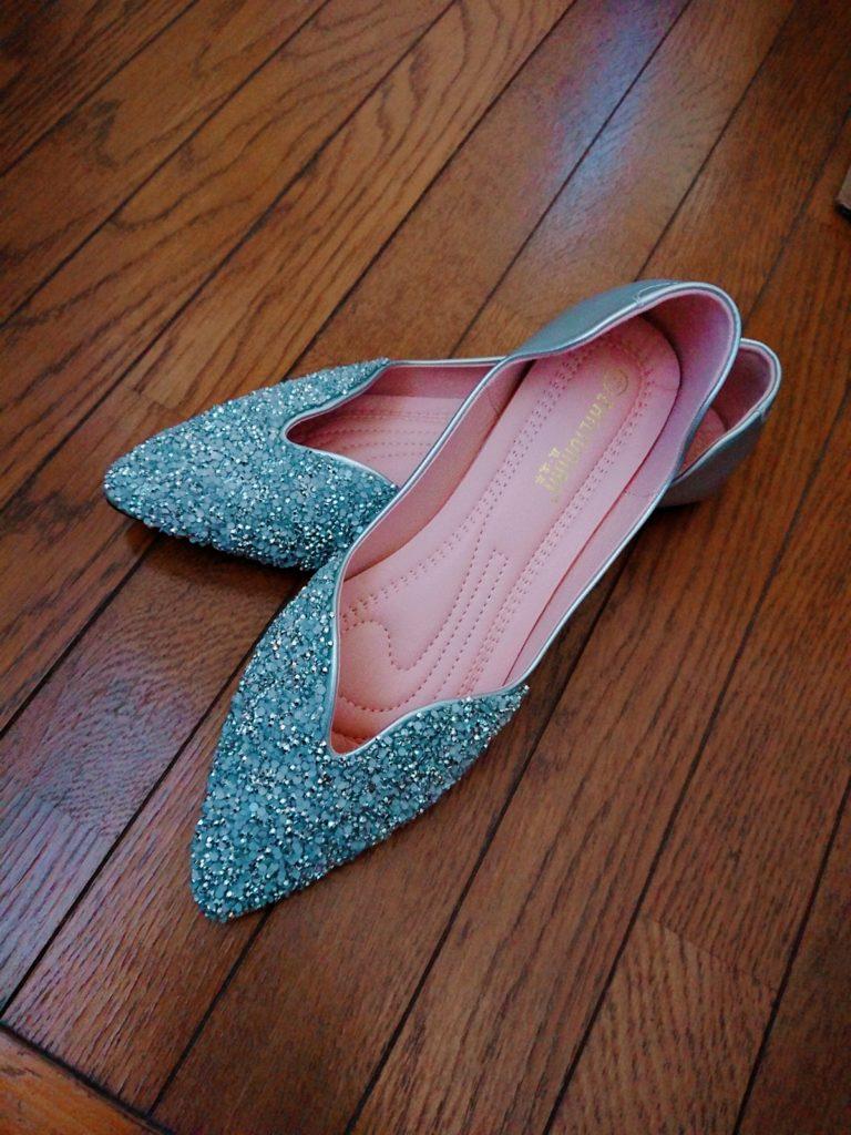 30代ママファッションコーデ,楽天anytime,靴,ぽっちゃり