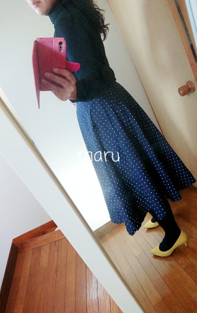 GU,大きいサイズ,ぽっちゃり,サーキュラースカート
