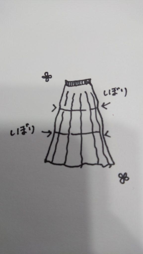 ロングスカート,ぽっちゃり
