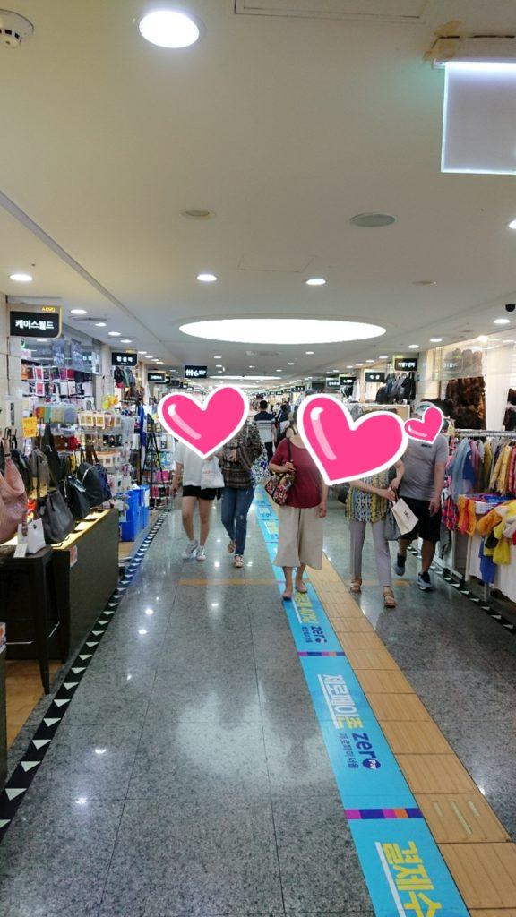 韓国,高速ターミナル,ファッション